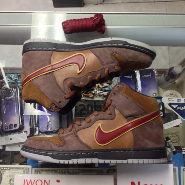 brand new a78b7 600cc 2011 Nike Dunk High Premium SB Cigar City   Jwong Boutique