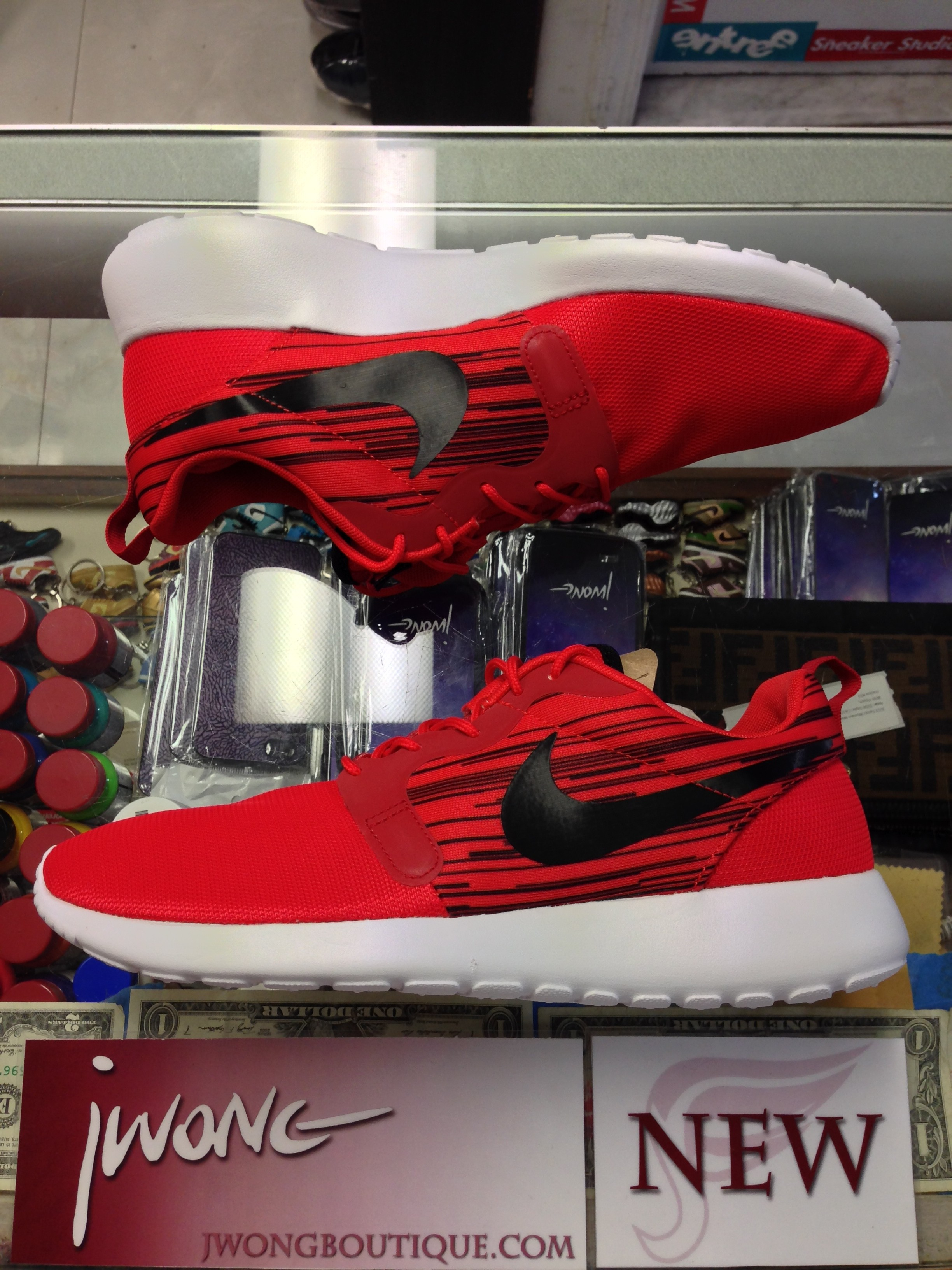 2014 Nike Rosherun Hyperfuse Challenge Red Men