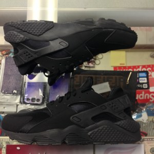 ef9f9ba4d1556 2014 Nike Air Huarache Triple Black Men Half Box