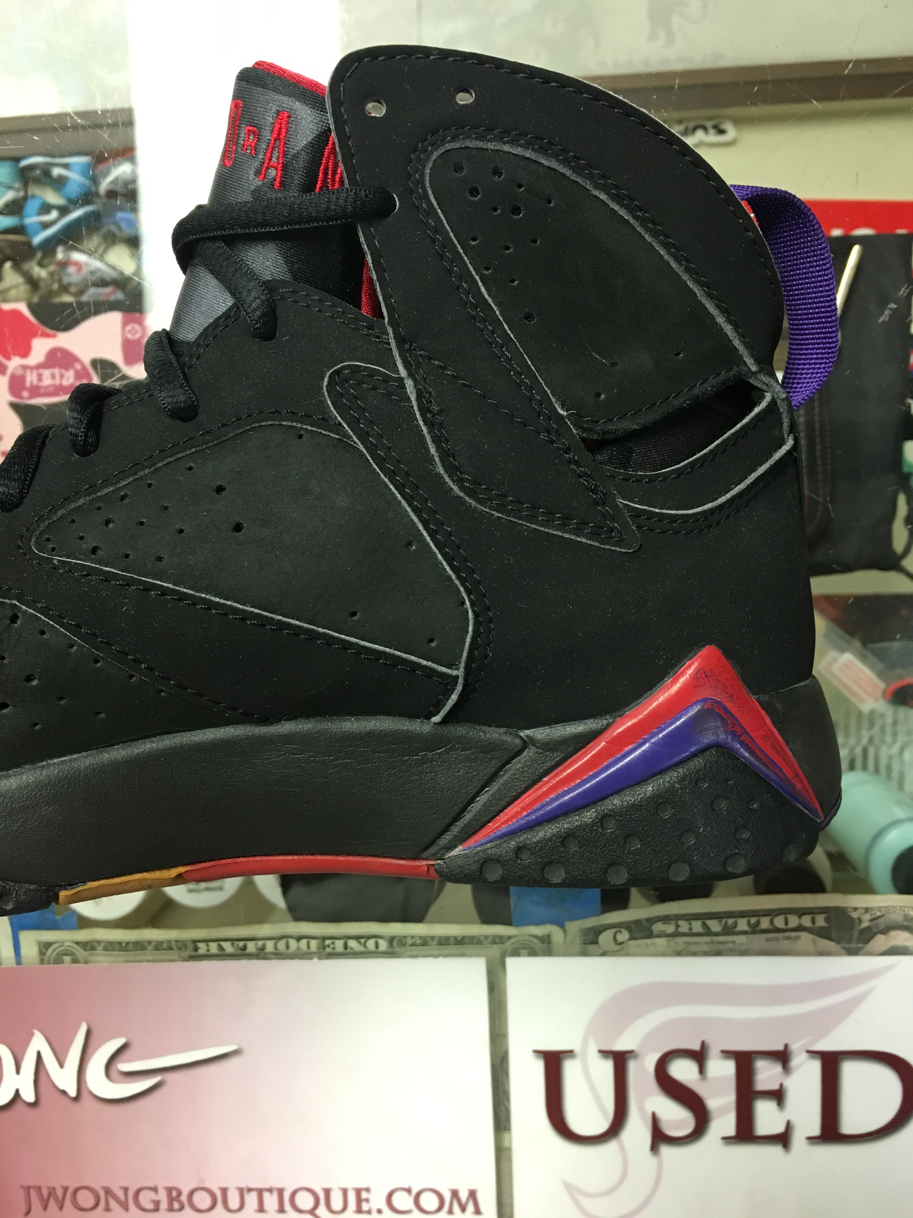 premium selection 93d38 dd495 2002 Nike Air Jordan VII Raptor