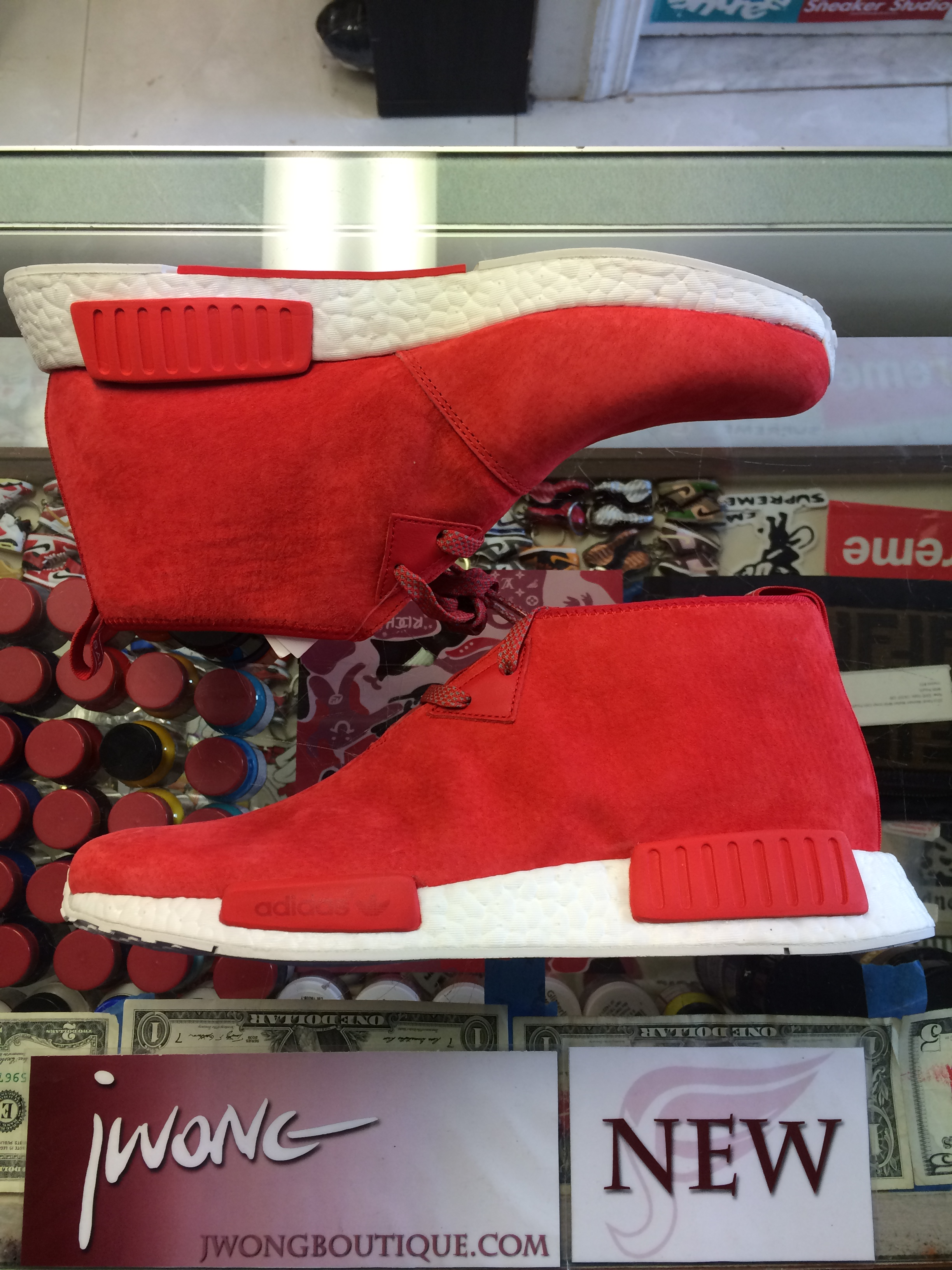on sale 6d5f7 aabdc 2016 Adidas NMD C1 Chukka Red
