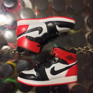 657e2ea0781a2 2006 Nike Air Jordan Old Love Black Toe 3D Keychain 3D Keychain