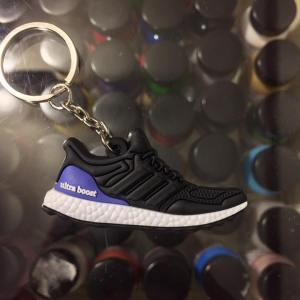 8465f8742 2015 Adidas Ultra Boost Black Metallic 1.0 2D Keychain