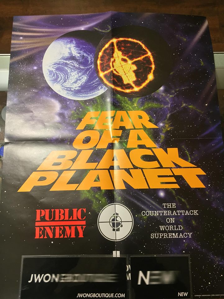 92241ee5df18 2018 Supreme Undercover Public Enemy Fear Of Black Planet Counterattack  Poster