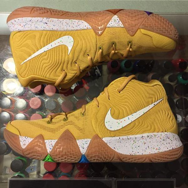 41b87d8ffa9 2018 Nike Kyrie 4 Cinnamon Toast Crunch CTC Men