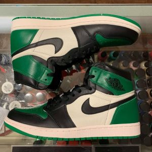 finest selection 87168 a9897 2018 Nike Air Jordan I High Pine Green Men