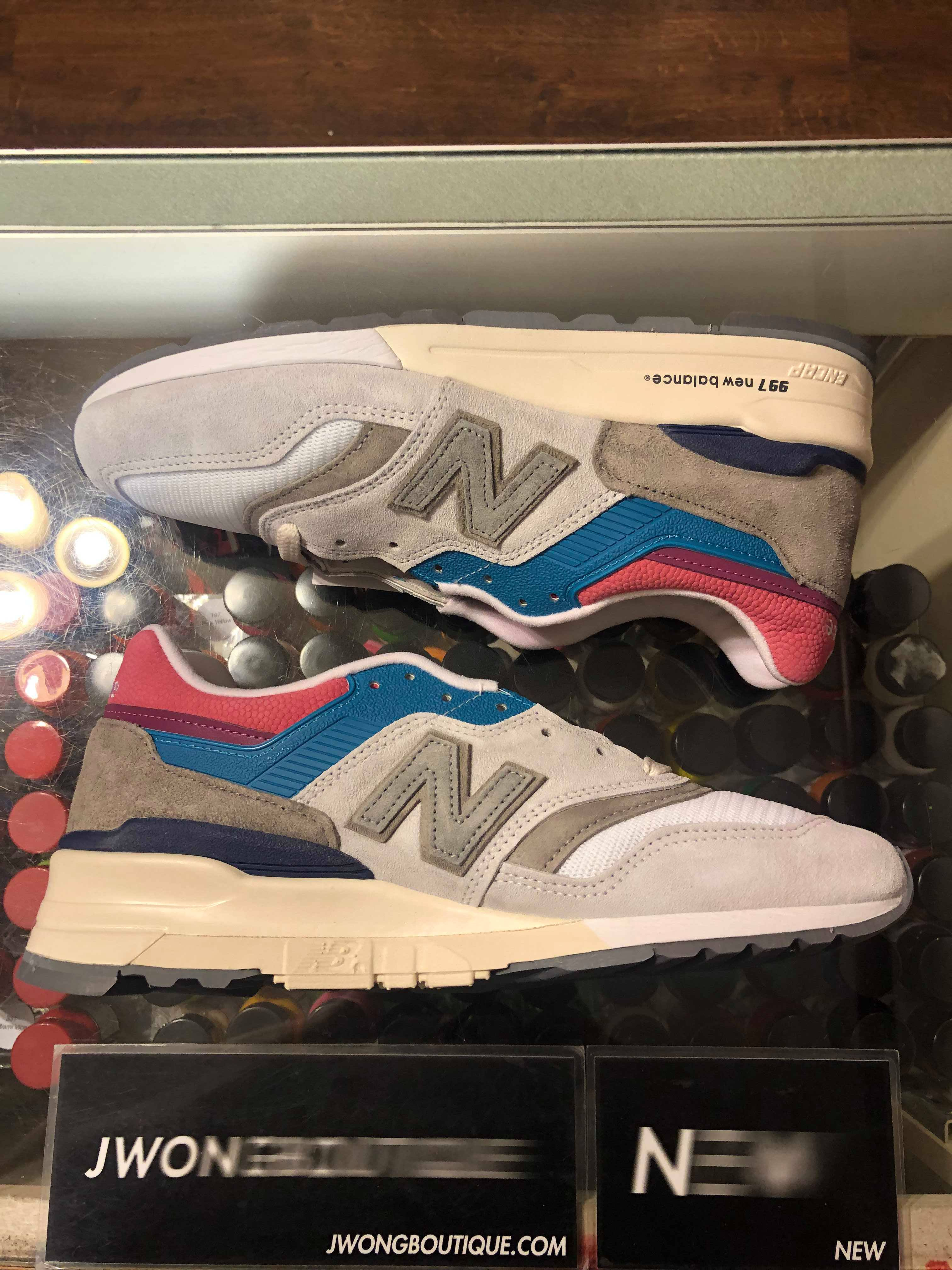 fe3bc95ee75eb 2019 New Balance 997 Aime Leon Dore Pink Tongue | Jwong Boutique