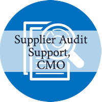 Supplier audit programme support – UK-based CMO