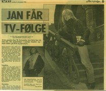 Jan får tv-følge 1984
