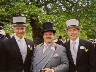 På Royal Ascot med Lord John Day, 20. juni 2007