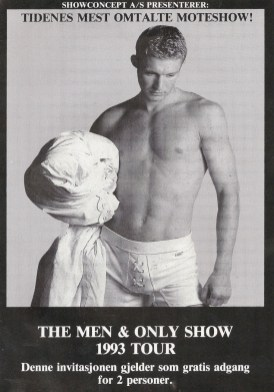 The men & only show 1993