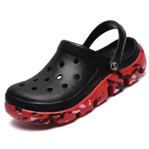 Summer Sandals Men's Garden Clogs Slippers Fashion Soft Camouflage Bottom Beach Sandals Mens Lightly Slipper Mule Clog Sandals
