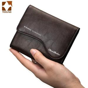 Men Wallets Thin Purse Hasp Retro Short Wallet package multi-card holder Small Wallet Automatic Credit Card carteira masculina