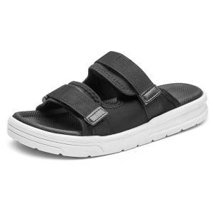 PUPUDA Men'S Slippers Summer Men Shoes New Flip Flops Soft Outdoor Slippers Men Casual Beach Shoes 2021 Male Slides