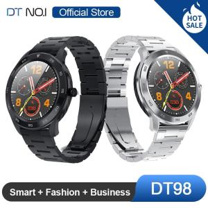 [OFFICIAL STORE] DTNO.I NO.1 DT98 Smart Watch IP68 Waterproof 1.3 Full Round HD Screen Multi Dial Smartwatch Fitness Tracker Men