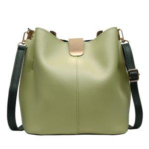 Women Leather Shoulder Bag Tote Purse Crossbody Messenger Handbag Top Handle 2020 Wild Large Capacity Shoulder Handbag #YL5
