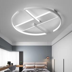 Chandelier Lighting for Living room Bedroom AC85-265V Modern Chandeliers Lustre Avize Round Aluminum Ceiling Chandelier Lights