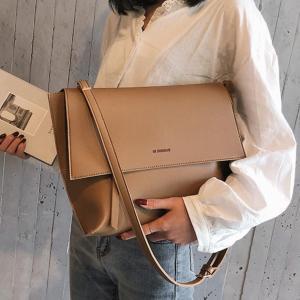 Vintage Fashion Female Flap Bag 2019 New Quality PU Leather Women's Designer Handbag Large Shoulder Messenger bag Bolsos Mujer