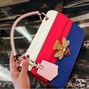 Women Handbag Genuine  Bee Shoulder Crossbody Bags Multifunction Bag 2019 Designer Luxury Brands Bag bolsa