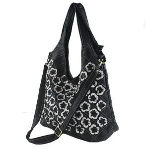 In Stock!Real 100% Genuine Leather Bags Women Hobo Patchwork Flower Handbags Ladies Tote Bag Colorful Freeship