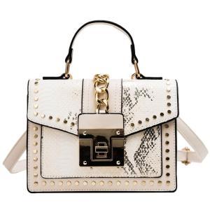 2019 Design Handbags High Quality Ladies Shoulder Women PU Leather Zip Lock Small Chains  Flap Bags