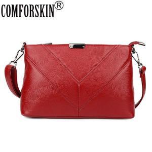 COMFORSKIN Bolsas Feminina Luxurious Genuine Leather Fashion Messenger Bag New Arrivals European and American Ladies Handbags