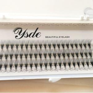 NEW 8-13mm 60 bundles/Set Natural C Curl 6/10/20D Black 0.07mm fiber Lash False Eyelashes Extension Beauty Tips Big eye tools