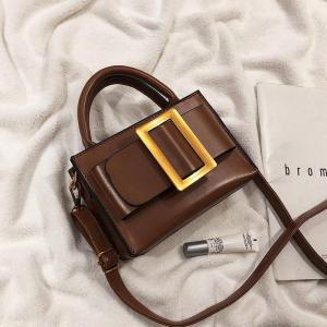 European Vintage Fashion Small Tote bag 2019 New Quality PU Leather Women's Designer Handbag Portable Shoulder Messenger Bags