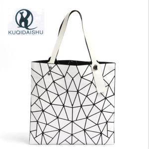 2018 New Women Bag Fashion Geometric Patchwork Bao Handbag Casual Woman Tote Bag Shoulder Bags bolsos mujer red sac a main