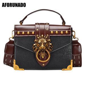 Luxury Handbags Women Bags Designer Lion Head Lock Shoulder Bags Fashion Ladies Tote Handbags Crossbody Bags For Women 2019
