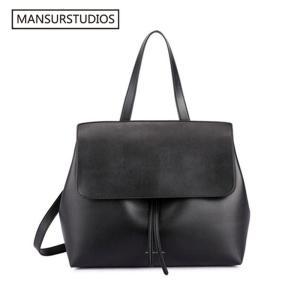 MANSURSTUDIOS Classics Shouder Bag ,Mansur women leather Lady Bag ,  Gavriel ladies Real leather handbag,Tote Bag for Girl