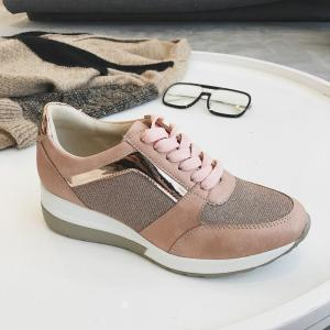Shoes Woman Sneakers Platform Trainers Women Shoes Casual Lace-Up Tenis Feminino Zapatos De Mujer Womens Sneakers C11-21