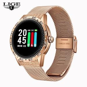 2019 Hot Sale Women Smart Watch Heart Rate Blood Pressure Monitor Smart Watch Women Smartwatch Men for Apple IOS Android Phone
