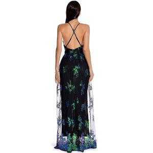 Sexy club outfits Sequin Party woman dress women summer clothes bodycon vintage maxi Dress elegant Backless Long dresses vestido