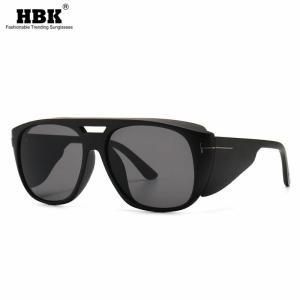 Modern Retro Big Frame Sunglasses Punk Trendy Street Sun Glasses Luxury Brand Designer Steampunk Black Sunglass Women Men UV400
