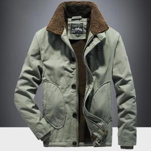 Winter Thickening Cargo Clothes Outdoor Hiking Trekking Camping Climbing Hunting Fishing Jacket Men Spring Sports Riding Coat