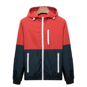 2019 New Autumn Men's Bomber Jackets Contrast Color Lightweight Jacke Coats Male Casual Slim Stand Collar Jacket Men Windbreaker
