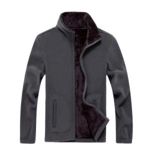 2018 Autumn Winter Fleece Hoodies Men's Jacket Thick Army Mens Coats Male Sweatshirts Mens Brand Clothing  Large size 6XL7XL 8XL