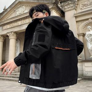 2019 Autumn Jackets Mens Pilot Bomber Jacket Male Baseball Hip Hop Coats Fit Coat Brand Jaqueta Masculino Casual Turtleneck