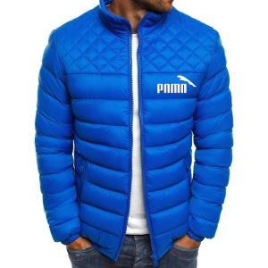 Winter jacket men 2020 fashion standing collar men parka coat jacket men's solid thick coats and coats men winter coat M-3XL