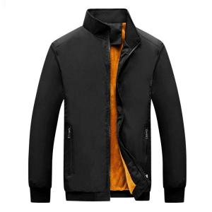 2019 Winter Jacket Men New Autumn Casual Solid Fashion Slim Thicken Men's windbreaker Jackets Coat MaleJacket 4XL 5XL