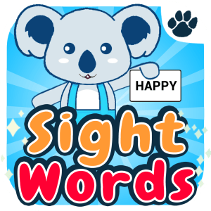 Sight words flashcard app by JYGStudio