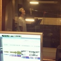 [OTHER INSTAGRAM] 161205 C-JeS Instagram Update: Junsu recording 'Night Light' OST