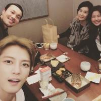 [OTHER INSTAGRAM] 170119 Kim Jaejoong's Reunion with 'Triangle' Team