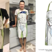 [OTHER INSTAGRAM] 170628 Young Hoon Joo IG Update: Kim Jaejoong's gift.. Same Sexy Apron, different feel