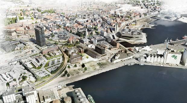 Filmby Aarhus glæder sig over den nye nabo. Pressefoto