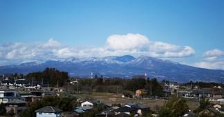箕輪城からの眺め
