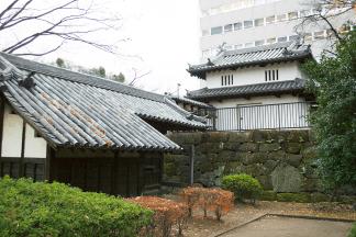 高崎城 乾櫓と東門