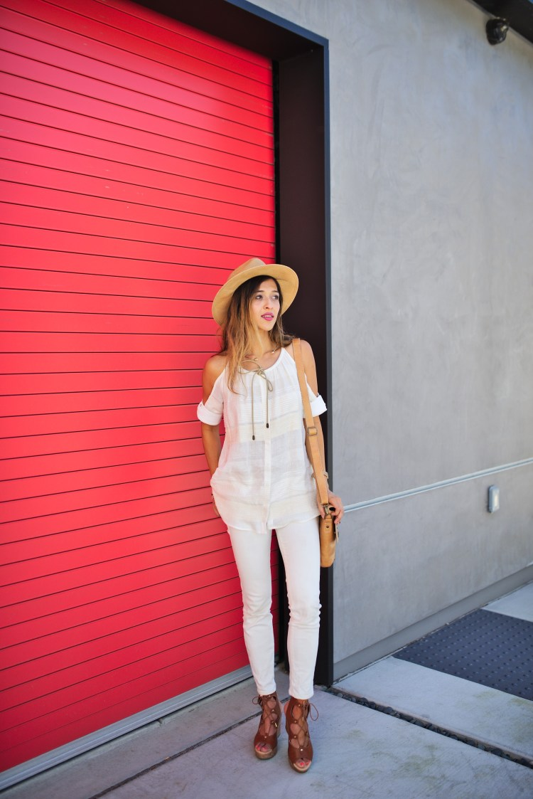 cuppajyo-sanfrancisco-fashion-lifestyle-blogger-bailey44-fancyfedora-weekendstyle-coldshoulder-whiteonwhite-7