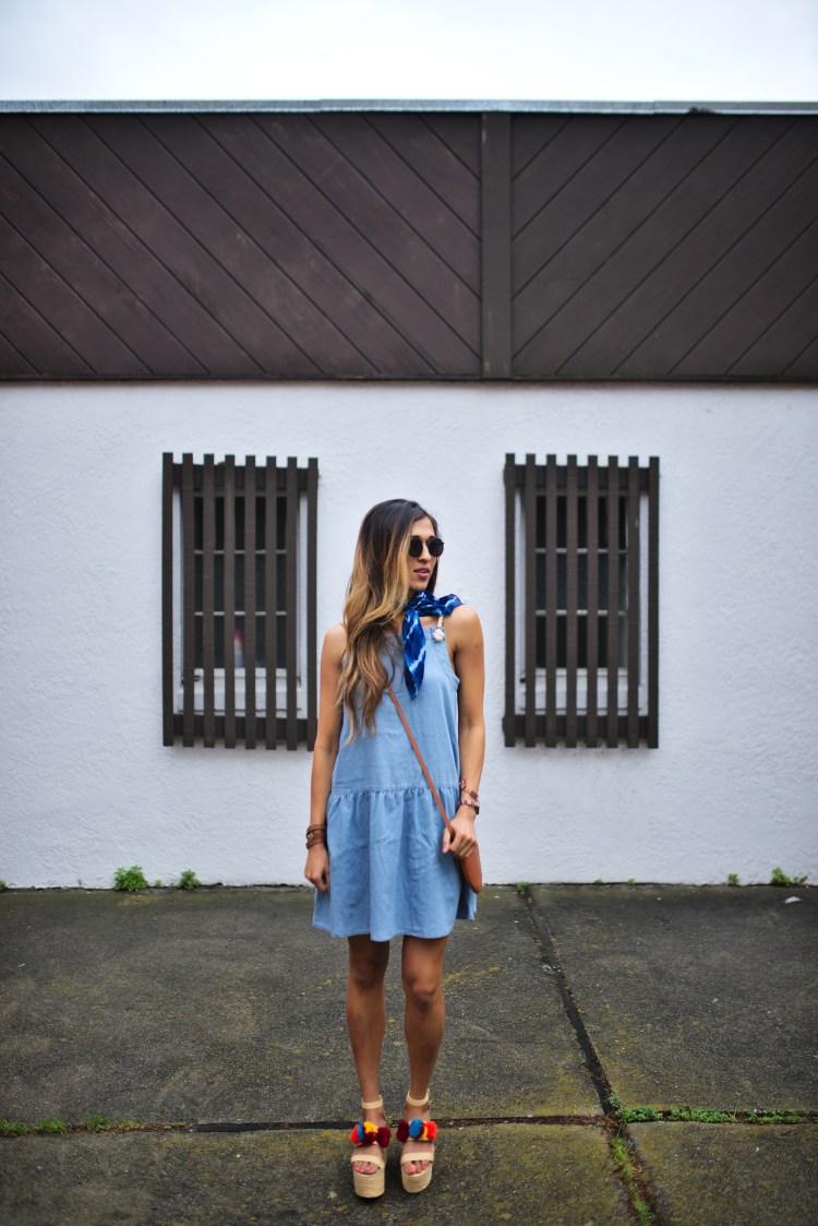 cuppajyo-sanfrancisco-lifestyle-fashion-blogger-asos-denimdress-pompomwedges-1